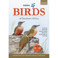 Sasol Birds of Southern Africa PVC (5th Edition) - SINCLAIR, HOCKEY, TARBOTON, PERRINS, ROLLINSON, RYAN (FREE DELIVERY)
