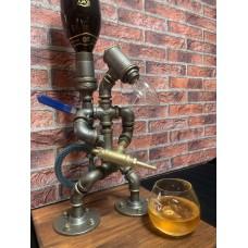 The Fire Man Lamp & Bottle Dispenser