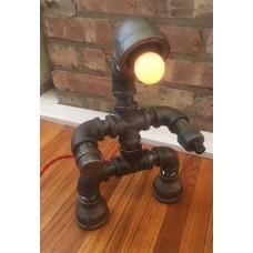 Metal Man  Lamp