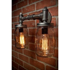 Pipe Wall Mount Lights