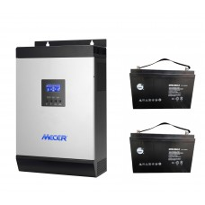 SOLAR POWER COMBO 28.8 kWh : 4kW Solar Power Input, 5kW Inverter with 28.8 kWh storage