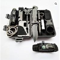 Xtreme 10-Piece Survival Kit (Black)