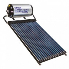 Kwikot Direct Solar Water Heater System 150 litre with 16 Vacuum Tubes