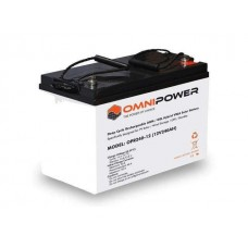 OmniPower Deep Cycle 60Ah 12V AMG/GEL Hybrid Sealed Battery (1 Year warranty, Free shipping)